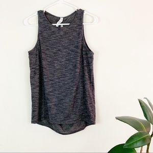 lululemon | low key drop back gray tank (4)